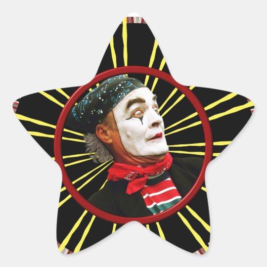 Mime Scared 2 Star Sticker