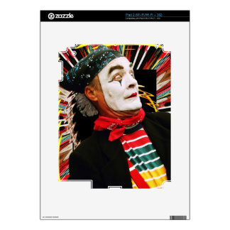 Mime Scared Decal For iPad 2