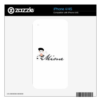 Mime Skin For iPhone 4S