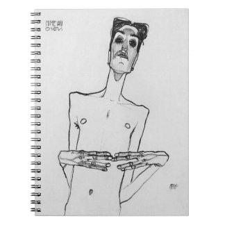 Mime van Osen Spiral Notebook