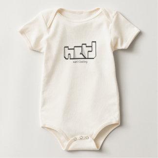 mimed nerd baby bodysuit