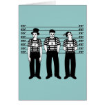 Mimes criminales tarjeta