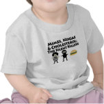 Mimes, Nijas y colesterol Camiseta