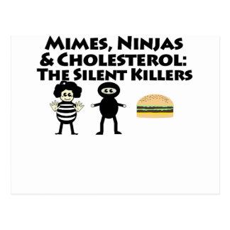 Mimes, Nijas y colesterol Postal