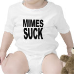 Mimes Suck Baby Bodysuit