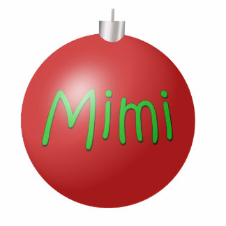 Mimi Christmas Ornament