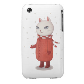 Mimi is Not a Fan of Snow iPhone Cases