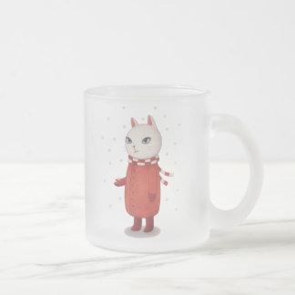 Mimi is Not a Fan of Snow Mugs