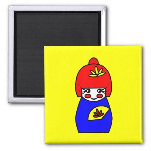 Mimi (Kokeshi Doll) Magnet