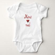 Mimi Loves Me Baby Bodysuit