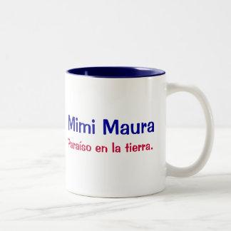 Mimi Maura Two-Tone Coffee Mug