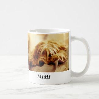 MIMI, MIMI CLASSIC WHITE COFFEE MUG