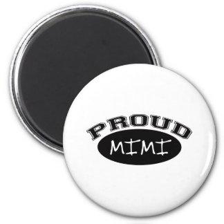 Mimi orgulloso (negro) iman