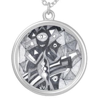 Mimi Round Pendant Necklace