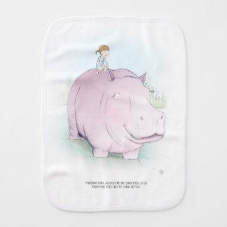 MiMi Ventures - Mia and Harold Baby Burp Cloth