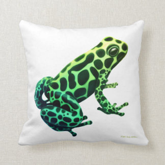 Mimic Poison Dart Frog Pillow