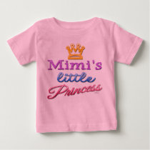 Mimi's Little Princess Baby Toddler T-Shirt