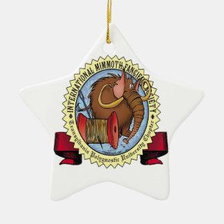 Mimmoth Fancier's Society Ceramic Ornament