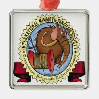 Mimmoth Fancier's Society Metal Ornament