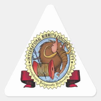Mimmoth Fancier's Society Triangle Sticker