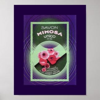 Mimosa 55 de Savon Posters