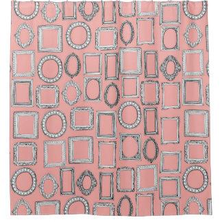 mimosa de los marcos cortina de baño