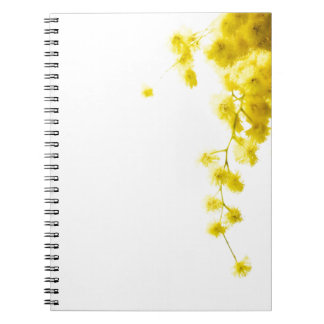 Mimosa Spiral Note Book