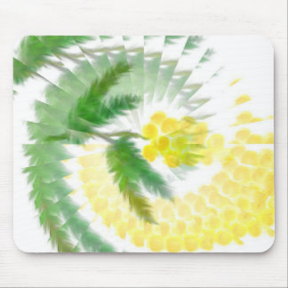 Mimosa Swirl Mouse Pad