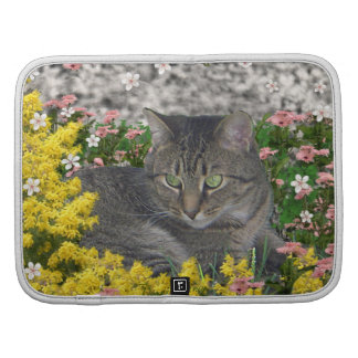 Mimosa the Tiger Cat in Mimosa Flowers Planner