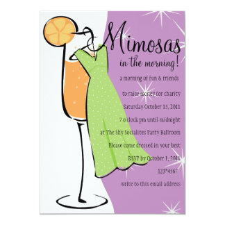 Mimosas Card