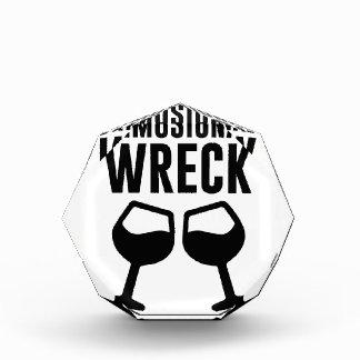 Mimosional Wreck Acrylic Award