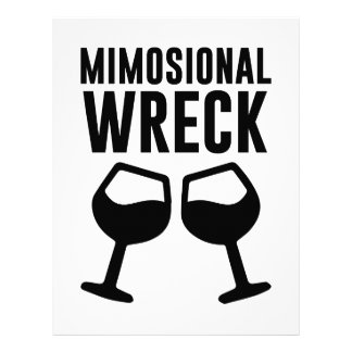 Mimosional Wreck Letterhead