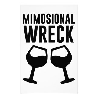 Mimosional Wreck Stationery