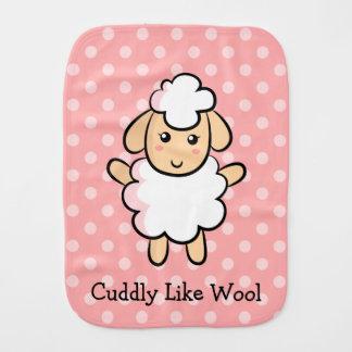 Mimoso como las lanas, ovejas lindas para las niña paños para bebé