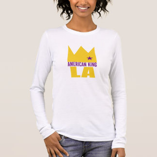MIMS Apparel -  American King of L.A. Long Sleeve T-Shirt