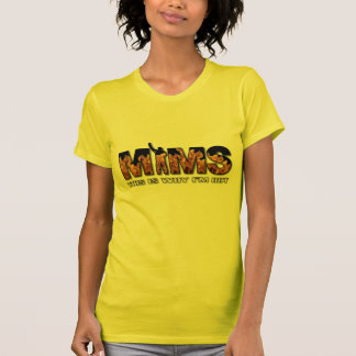 MIMS Apparel -  This is Why I'm Hot Logo - White T-Shirt