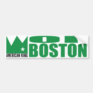 MIMS Bumper Sticker - American King of Boston