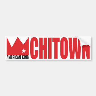 MIMS Bumper Sticker - American King of Chi-Town