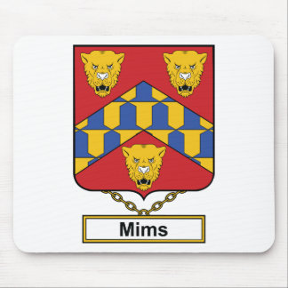 Mims Family Crest Mousepad