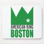 MIMS Mousepad - rey americano de Boston Alfombrilla De Ratón