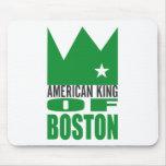 MIMS Mousepad - rey americano de Boston Alfombrilla De Ratones