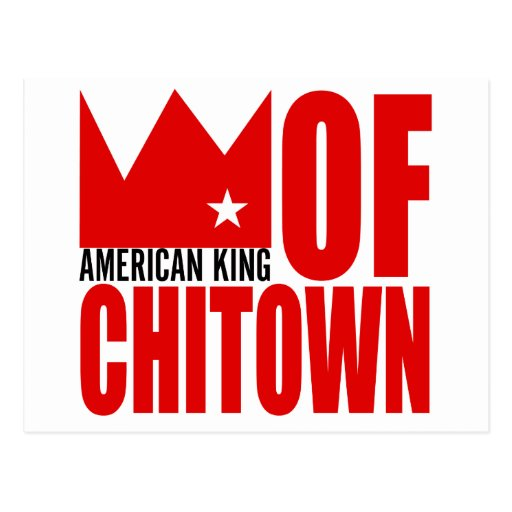 MIMS Postcard -  American King of Chi-Town