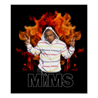 MIMS Poster Print -  Eternal Flame