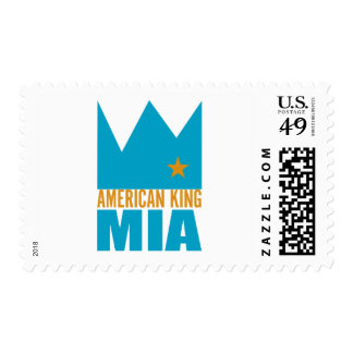 MIMS Stamps -  American King of MIA