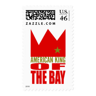 MIMS Stamps -  American King of The Bay