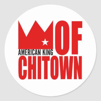 MIMS Sticker -  American King of Chi-Town