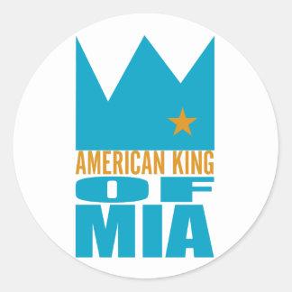 MIMS Sticker -  American King of MIA