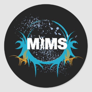 MIMS Sticker -  MIMS Logo Framed - Exclusive