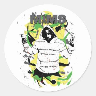 MIMS Sticker -  Splatter - Exclusive