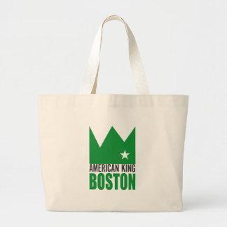 MIMS Totebag - rey americano de Boston Bolsa De Tela Grande